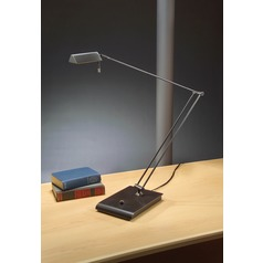 Holtkoetter Lighting Bernie Series Hand-Brushed Old Bronze Swing Arm Lamp