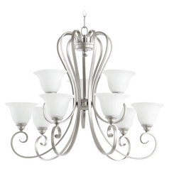 Quorum Lighting Celesta Classic Nickel Chandelier