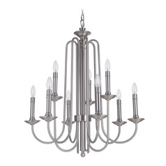 Craftmade Lighting Avery Polished Nickel Chandelier