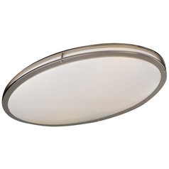 Minka Lighting 32-1/4-Inch Oval Flushmount Ceiling Light 864-84-PL