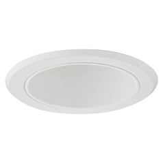 White Cone Reflector Trim for 5-Inch Recessed Housings