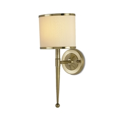 Mid-Century Modern Sconces Brass Primo by Currey and Company Lighting