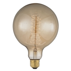 Edison Early Electric Carbon Filament G40 Light Bulb - 60-Watt