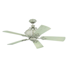 Craftmade Lighting Wellington Xl French White Ceiling Fan with Light
