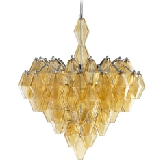 Cyan Design Boho Amber Pendant Light