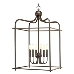 Assembly Hall Antique Bronze Pendant Light by Progress Lighting