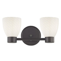 Aon Fuse Bronze Bathroom Light