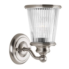 Progress Lighting Radiance Brushed Nickel Sconce