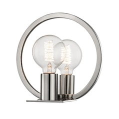 Industrial Edison Bulb Sconce Polished Nickel 8.75-Inch by Hudson Valley Lighting