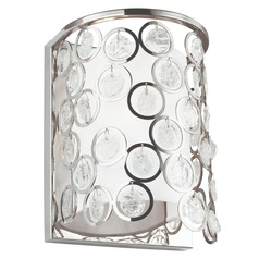 Feiss Lighting Lexi Polished Nickel Sconce