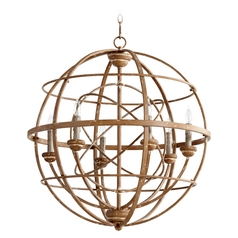 Quorum Lighting Salento French Umber Pendant Light