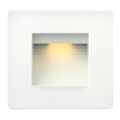 Hinkley Lighting Luna Satin White LED Recessed Step Light