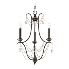 Craftmade Lighting Lilith Legacy Brass Mini-Chandelier