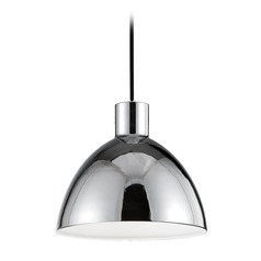 Farmhouse Chrome LED Mini-Pendant 3000K 338LM