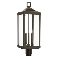 Progress Lighting Gibbes Street Antique Bronze Post Light