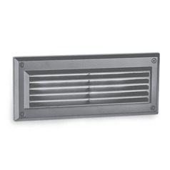 WAC Lighting Endurance Architectural Graphite LED Recessed Step Light