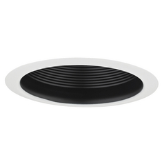 Air Tight Black Baffle Cone Trim for 5-Inch Recessed Housings