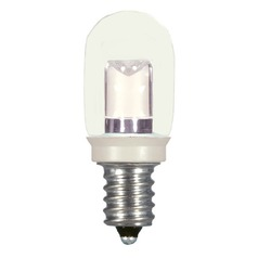 0.8W LED T6 Candelabra Base Bulb 2700K 20LM