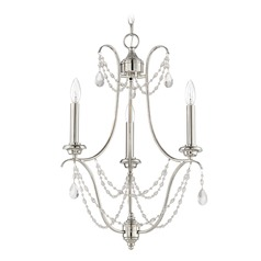 Craftmade Lighting Lilith Polished Nickel Mini-Chandelier