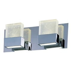 Fizz Iii Polished Chrome LED Bathroom Light