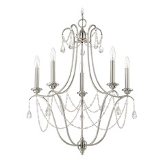 Craftmade Lighting Lilith Polished Nickel Chandelier