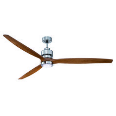 Craftmade Lighting Sonnet Chrome Ceiling Fan with Light