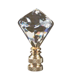 Finial Showcase Strass Aries Crystal Finial FH C-12