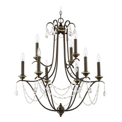 Craftmade Lighting Lilith Legacy Brass Chandelier