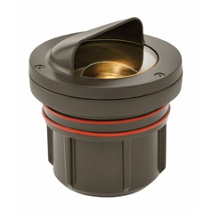 Hinkley Lighting Shielded Bronze LED In-Ground Well Light 3000K 400LM