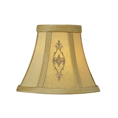 Design Classics Lighting Beige Empire Lamp Shade with Clip-On Assembly SH9565