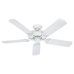 Hunter Fan Company Sea Air White Ceiling Fan Without Light
