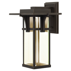 Hinkley Lighting Manhattan Oil Rubbed Bronze LED Outdoor Wall Light