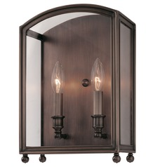 Hudson Valley Lighting Millbrook Polished Nickel Sconce