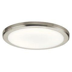 Kichler Lighting Zeo Brushed Nickel LED Flushmount Light 1500LM 4000K