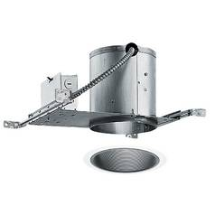 6-inch Recessed Lighting Kit with Black Trim