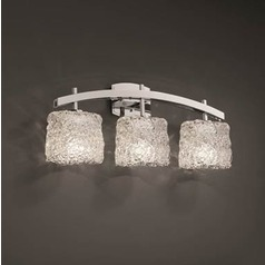Justice Veneto Luce Polished Chrome Bathroom Light