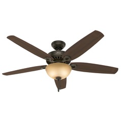 Hunter Fan Company Builder Great Room New Bronze Ceiling Fan with Light