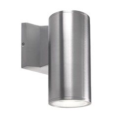 Kuzco Lighting Modern Silver LED Outdoor Wall Light 3000K 780LM