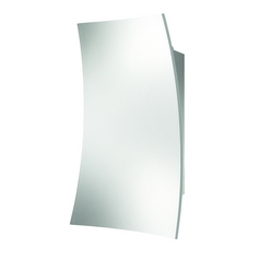 Modern LED Sconce Wall Light in White Finish