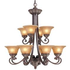 Dolan Designs Lighting Twelve-Light Chandelier 822-38