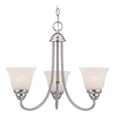 Designers Fountain Kendall Satin Platinum Chandelier