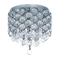 Maxim Lighting Cirque Chrome Flushmount Light