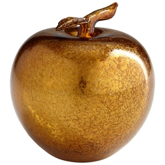 Cyan Design Gold Apple Gold Sculpture