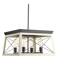 Briarwood Graphite Pendant Light by Progress Lighting