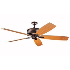 Kichler 70-Inch Ceiling Fan with Five Blades