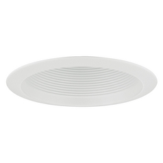 White Baffle Cone Trim for 6-Inch Recessed Cans