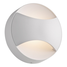 Sonneman Lighting Toma Textured White LED Sconce