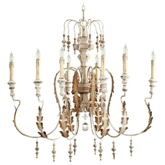 Cyan Design Motivo Persian White Chandelier