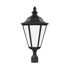 Sea Gull Lighting Brentwood Black Post Light