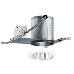 6-inch Recessed Lighting Kit with Tapered Clear Alzak Trim